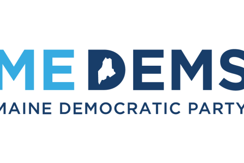 ME Democratic Party logo